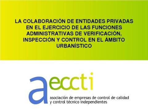 Presentación Santiago Parras Vázquez. Secretario xeral da Asociación de Empresas de Control de Calidade e Control Técnico Independentes (AECCTI)  - Xornada sobre a Directiva de Servizos e a Administración Local
